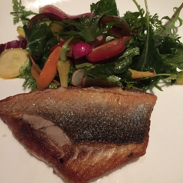 Sea bass - Cavatina at Sunset Marquis, West Hollywood, CA
