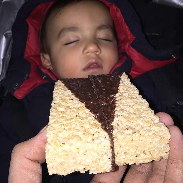 Chocolate Dipped Rice Krispie Treats - Payard Patisserie & Bistro - Caesars Palace Las Vegas, Las Vegas, NV