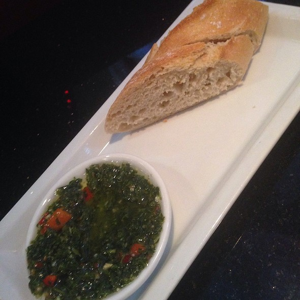Bread With Chimichurri - Kravings, Tarzana, CA