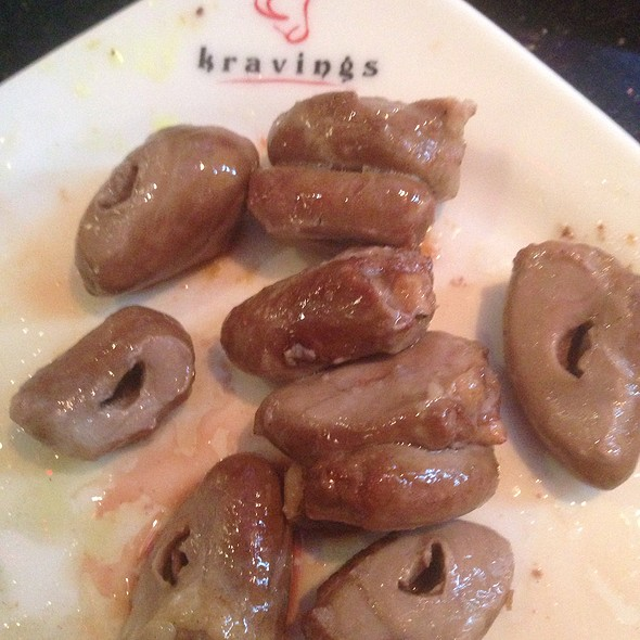 Chicken hearts - Kravings, Tarzana, CA