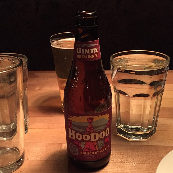 Hoodoo Kölsch Style Ale - Grub Steak Restaurant, Park City, UT