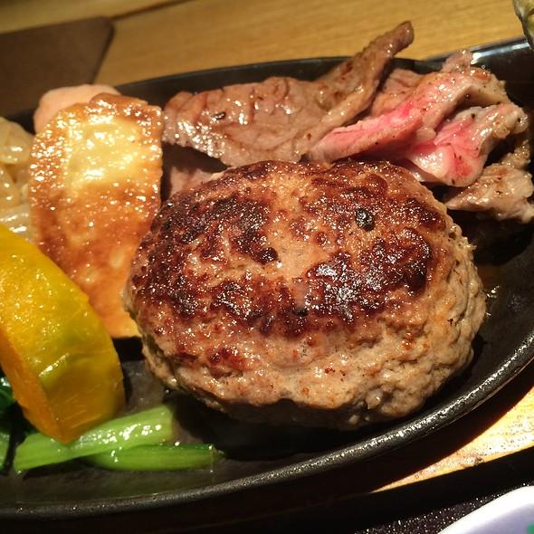 Hanburg Steak - 銀熊茶寮, 中央区, 東京都