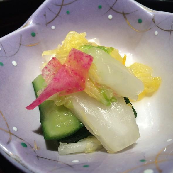 Pickles Oshinko - 銀熊茶寮, 中央区, 東京都