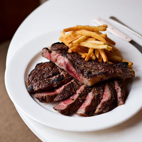 Ribeye Steak Frites - Eli's Table, New York, NY