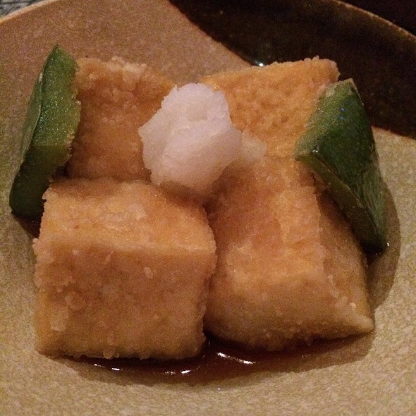 Age Dashi Tofu - RanGetsu at Lake Lily, Maitland, FL