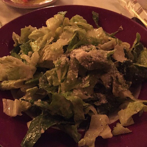Caesar Salad - Sabatino's Restaurant, Chicago, IL