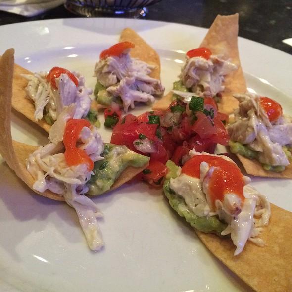 Crab Tostaditas - Red Drum Restaurant and Bar, Mount Pleasant, SC