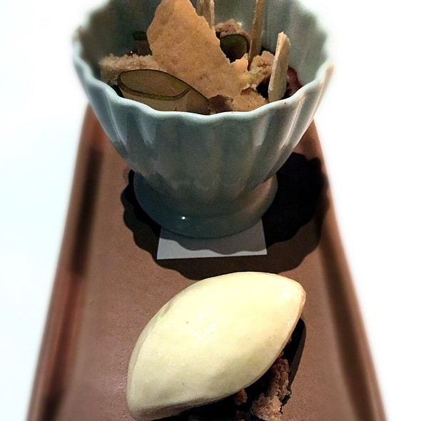Chocolate Ginger Pot De Creme - Gracie's, Providence, RI