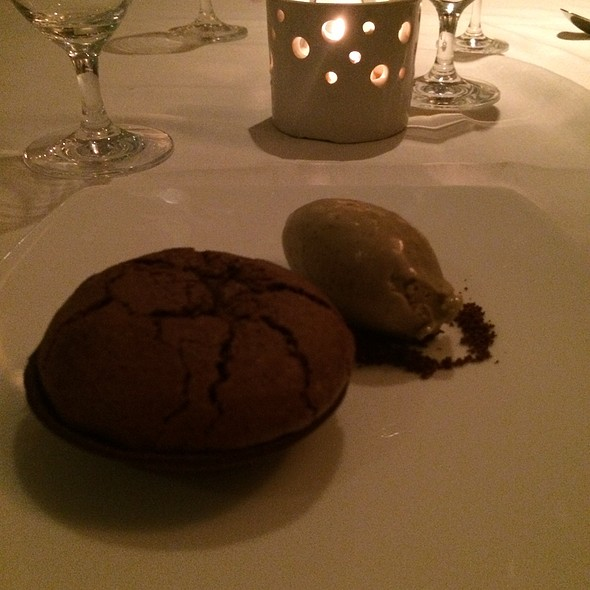 Chocolate Souffle Tart - The North Fork Table & Inn, Southold, NY