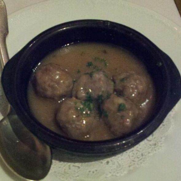 Meatball tapas - Alcala, New York, NY
