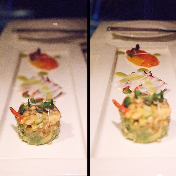 A Tasting Of Chilled Seafood - Five Sails Restaurant, Vancouver, BC