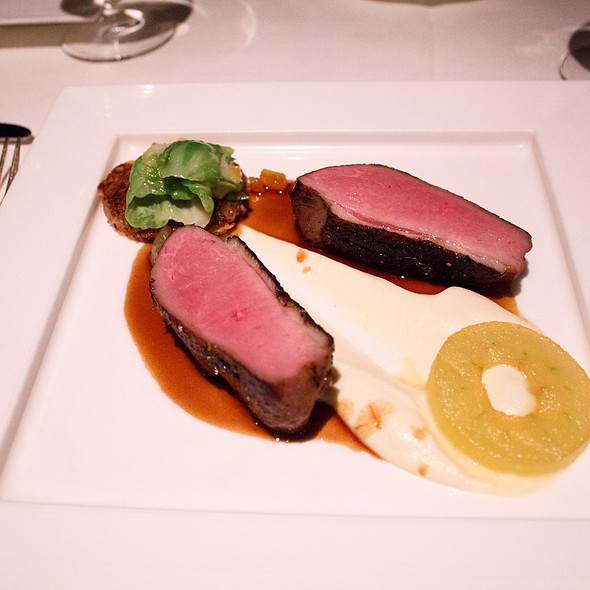 Honey glazed smoked breast of duck - Five Sails Restaurant, Vancouver, BC