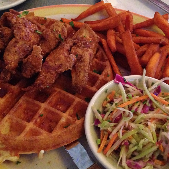 Chicken and Waffles - Duke's - Murray Hill, New York, NY