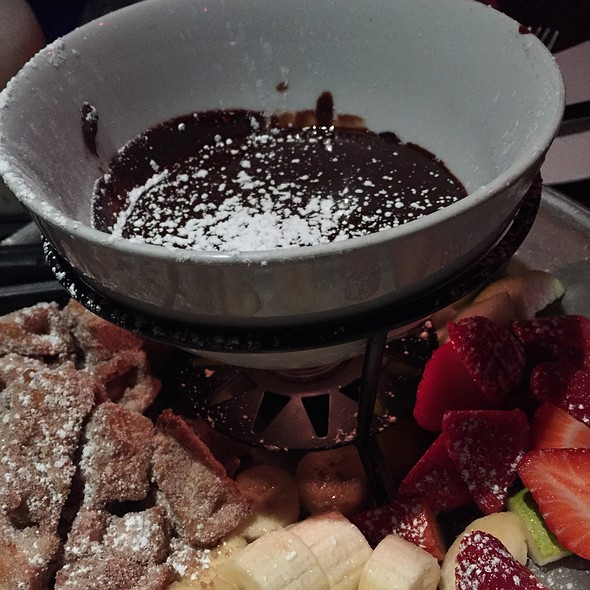 Chocolate Fondue - Ciro's Speakeasy and Supper Club, Tampa, FL