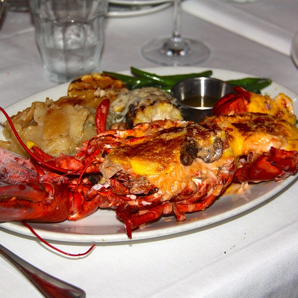 Lobster Thermidor - Savannah Chop House, Laguna Niguel, CA