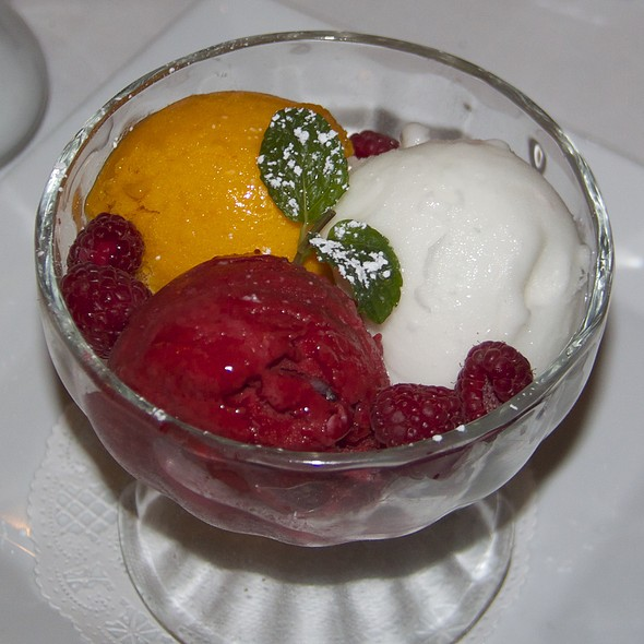 Assorted Sorbets - Savannah Chop House, Laguna Niguel, CA