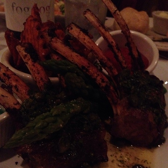 Lollipop Lamb Chops - French Market Bistro, Baton Rouge, LA