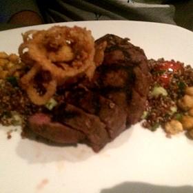Moroccan Spiced Steak - Cafe Modern, Fort Worth, TX