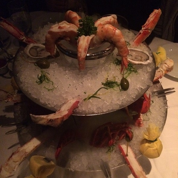 Seafood Tower Two Tiers - Mastro's Steakhouse - Chicago, Chicago, IL