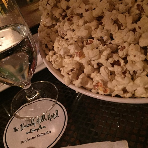 Truffle Popcorn - Bar Nineteen 12 @ The Beverly Hills Hotel, Beverly Hills, CA