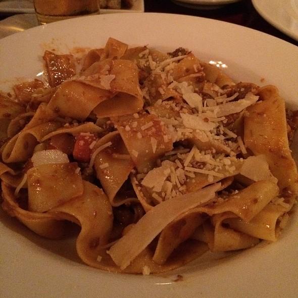Parpadelle Bolognese - Lana Restaurant & Bar, Charleston, SC