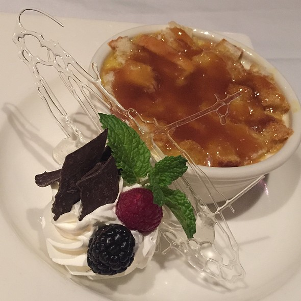 Salted Caramel Bread Pudding - The Steakhouse at Harrah's - Harrah's Reno, Reno, NV