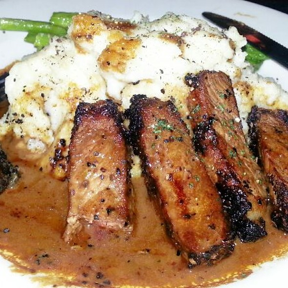 Serlion Steak With Peppercorns - Deep Fork Grill, Oklahoma City, OK