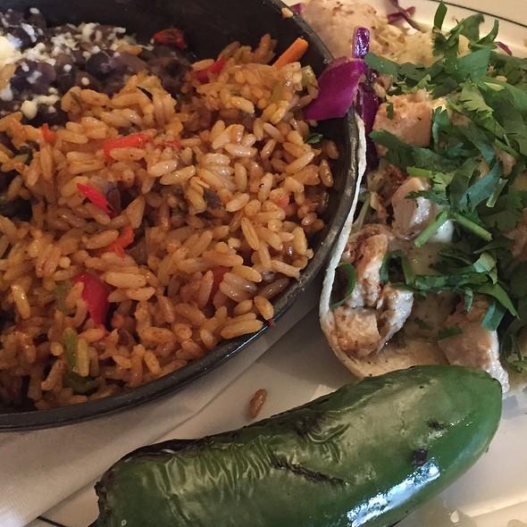 fish tacos - Daily Grill - Burbank Marriott Hotel, Burbank, CA