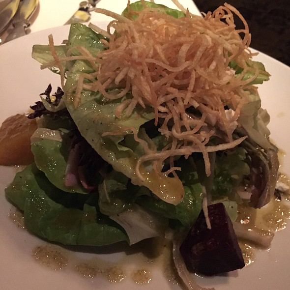 Soft Bibb Lettuce Salad - Moshulu, Philadelphia, PA