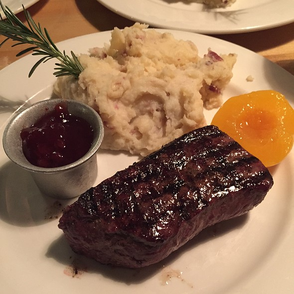 Elk Sirloin - Grub Steak Restaurant, Park City, UT
