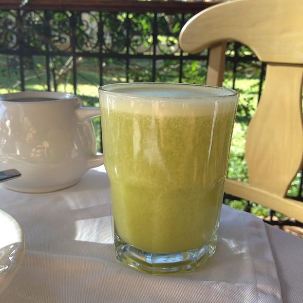 Orange And Nopal Juice - Hacienda Xcanatun-Casa de Piedra, Merida, YUC