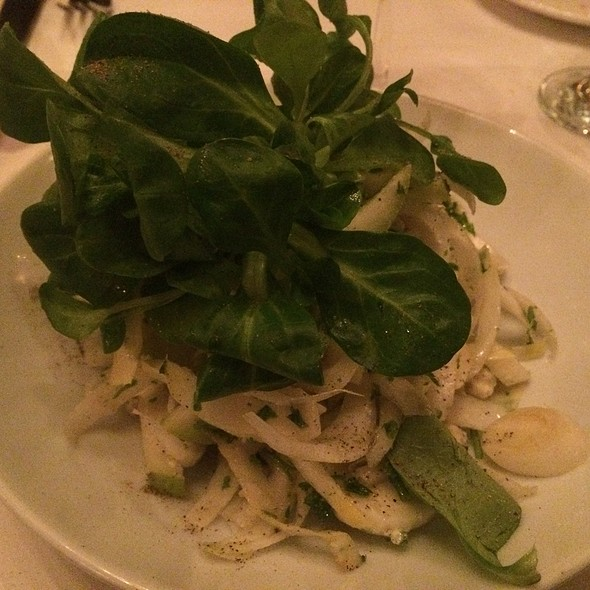 Salade d'Endives - Le Chat Noir, Washington, DC