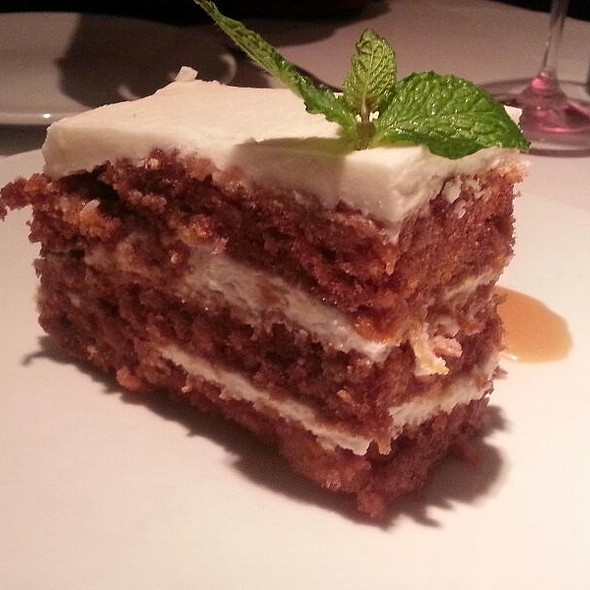 Carrot Cake - Fleming's Steakhouse - Tyson's Corner, Tysons Corner, VA