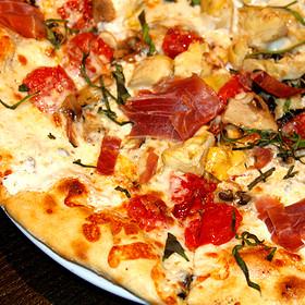 Pizza - Il Villaggio Osteria, Teton Village, WY