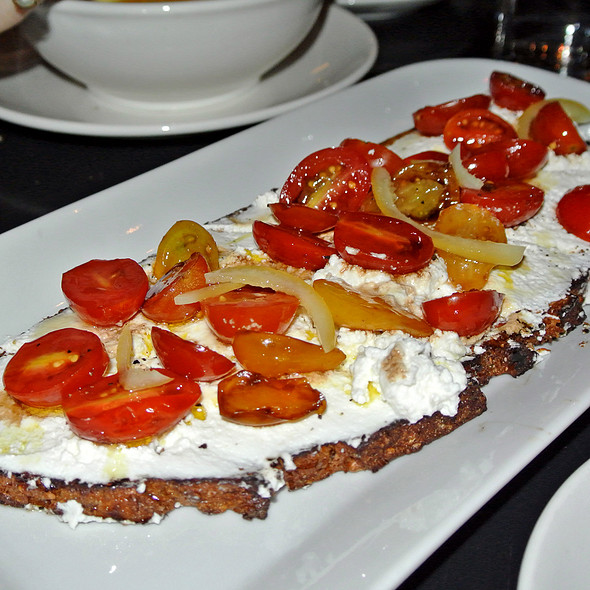 Ricotta Tartine - Tartinery, New York, NY