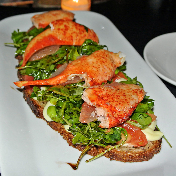 Lobster Tartine - Tartinery, New York, NY