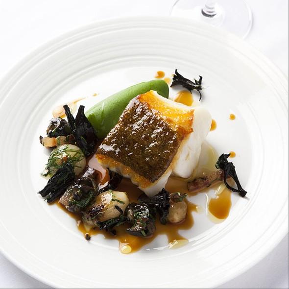Sea bass - Lutyens Restaurant, London