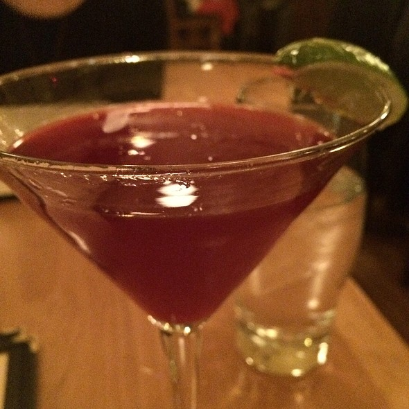 Beet Cosmopolitian - Craftsman Restaurant, Minneapolis, MN