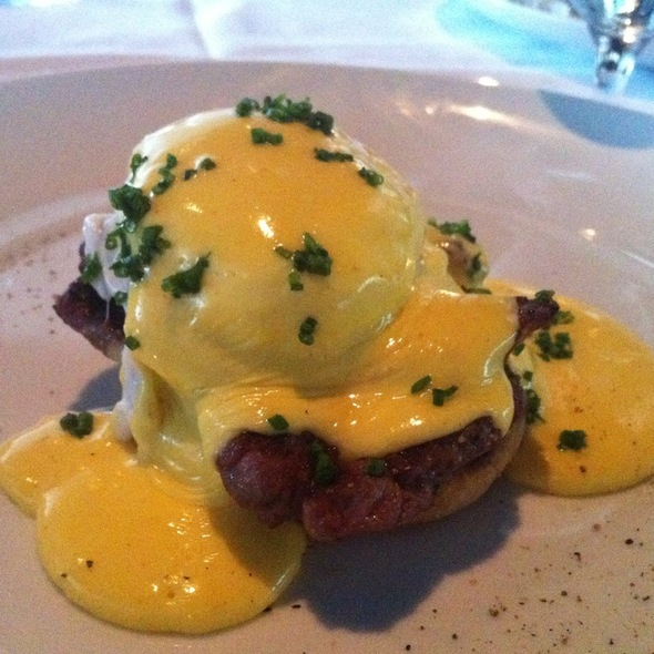 Filet Benedict - Watermark Restaurant, Nashville, TN