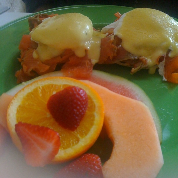 Smoked Salmon Eggs Benedict - Amore Trattoria, Toronto, ON
