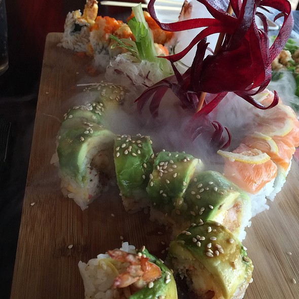 Assorted Sushi Rolls And Special Effects - Nama, San Francisco, CA