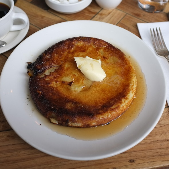 Sourdough Seckel Pear Pancake - Vinegar Hill House, Brooklyn, NY