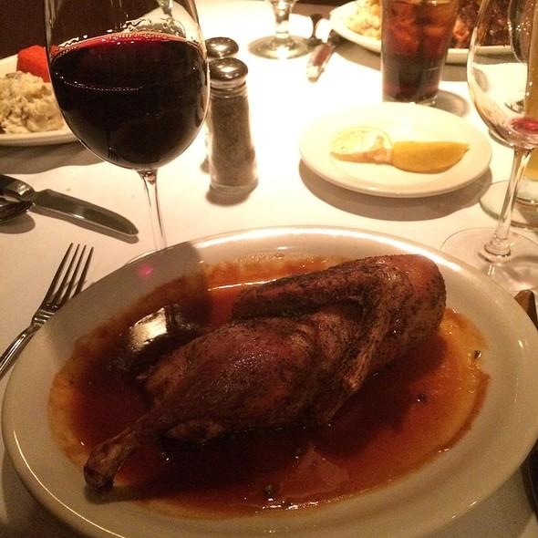 Crispy Duck In Peppercorn Gravy - Bob's Steak and Chop House - Omni Tucson National Resort, Tucson, AZ