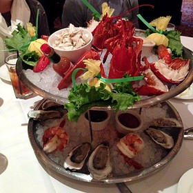 Seafood Tower Two Tiers - The Capital Grille - Pittsburgh, Pittsburgh, PA