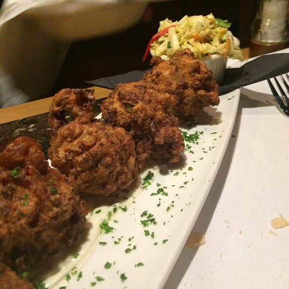Lobster Fritters - Dusty's Wine Bar, Okemos, MI