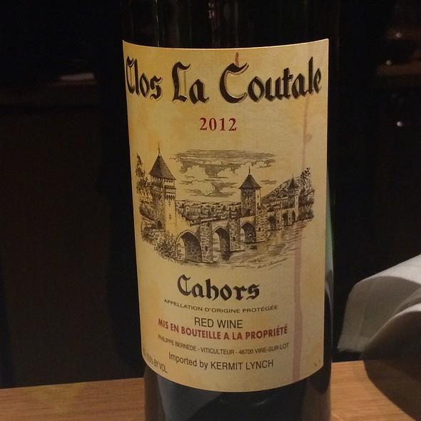 Clous La Coutale Malbec - Dusty's Wine Bar, Okemos, MI