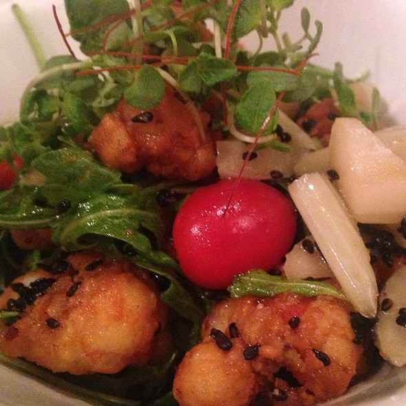 Fried Octopus Salad - Arami, Chicago, IL