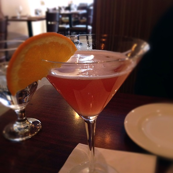 Blood Orange Cosmo - Firefly American Bistro, Manchester, NH