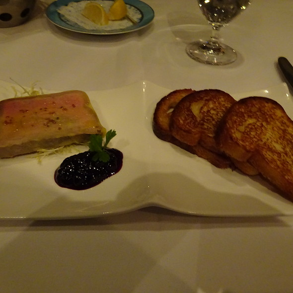Foie Gras Terrine - Andre's at the Monte Carlo Resort & Casino, Las Vegas, NV