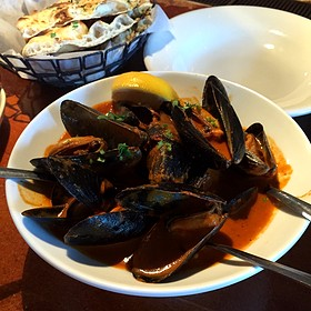 Curried Mussels - Clay Pit, Austin, TX